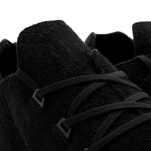 ADIDAS BY WINGS + HORNS ZX FLUX X LEATHER / BLACK - 4