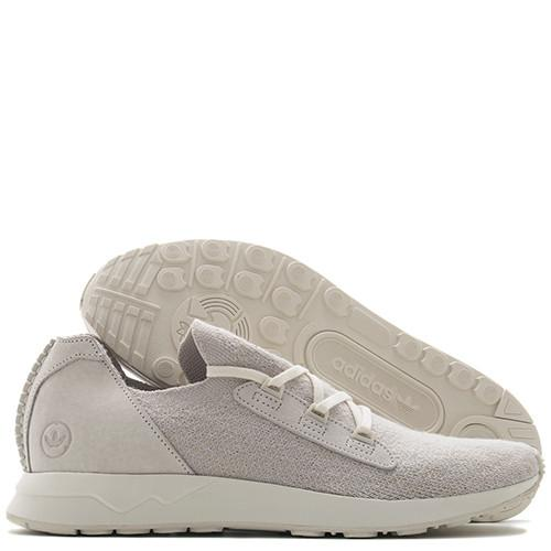 ADIDAS BY WINGS + HORNS ZX FLUX X PRIMEKNIT / OFF WHITE - 2