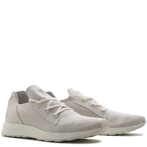 ADIDAS BY WINGS + HORNS ZX FLUX X PRIMEKNIT / OFF WHITE - 3