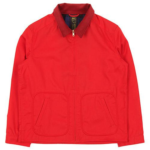 BRAIN DEAD NO BRAINER CLUB JACKET / RED - 1