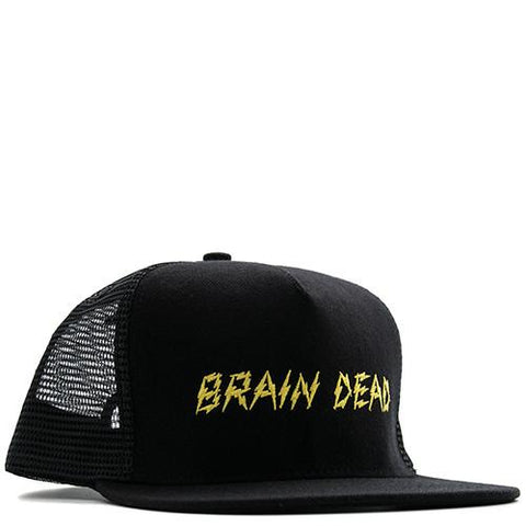 BRAIN DEAD BOLT MESH HAT / BLACK - 1