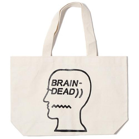 BRAIN DEAD LOGO TOTE / NATURAL - 1
