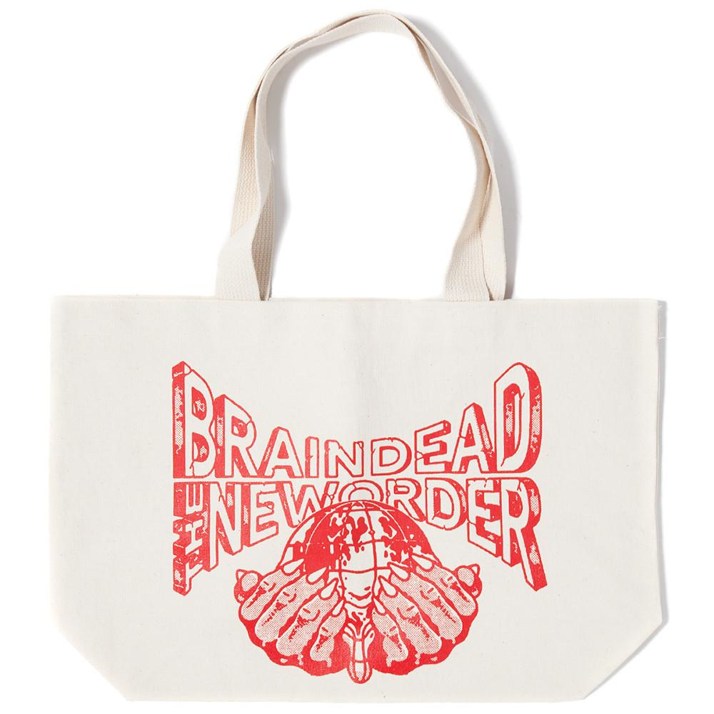 BRAIN DEAD NEW ORDER TOTE CANVAS / CANVAS