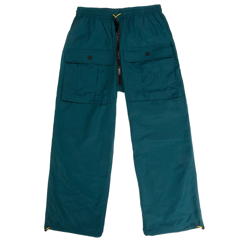 Brain Dead Nylon Flight Pant / Blue Green