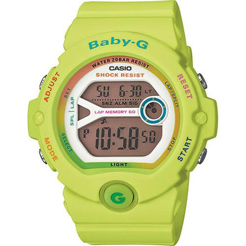 G-SHOCK BABY-G DIG LAP 60 GLOSS / YELLOW
