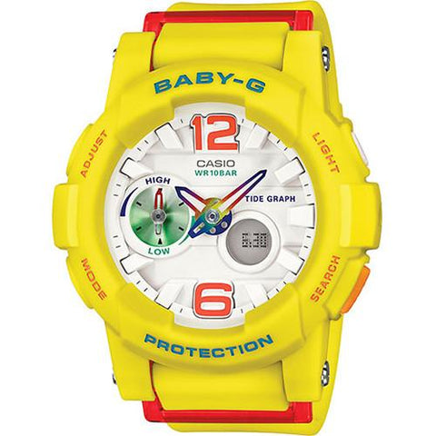 G-SHOCK BABY-G GLIDE AD RUG / YELLOW
