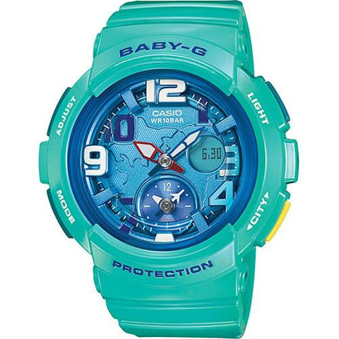 G-SHOCK BABY-G DUAL WORLD TIME / BLUE