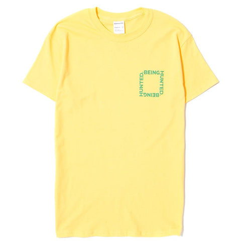 BEINGHUNTED THE RIGHT THING T-SHIRT / YELLOW