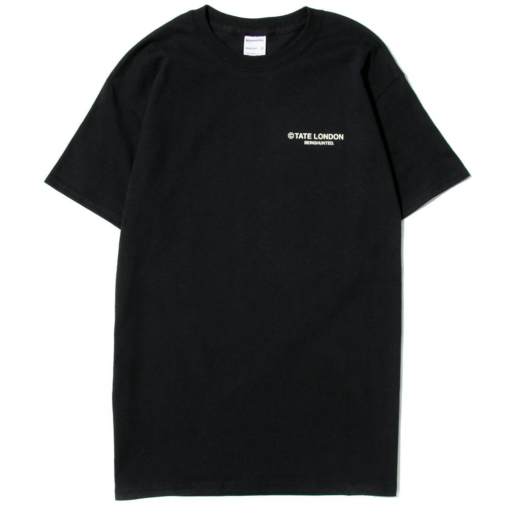 BEINGHUNTED ARTIFACT SERIES HENRY THOMSON T-SHIRT / BLACK