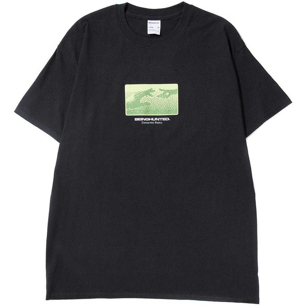 Style code BGHDT0041BLK. BEINGHUNTED GSM II T-SHIRT / BLACK