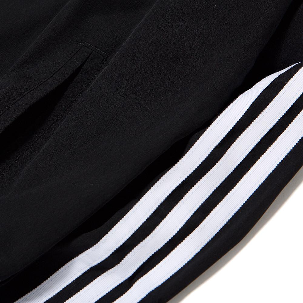 style code BJ8184. ADIDAS WOMEN'S 3 STRIPES BOMBER JACKET / BLACK