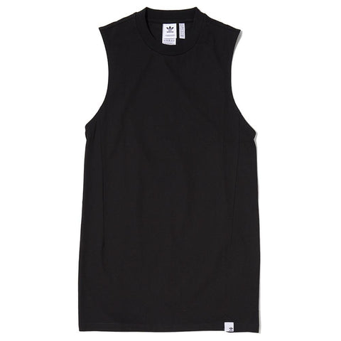 ADIDAS WOMEN'S XBYO ELONGATED TANK / BLACK