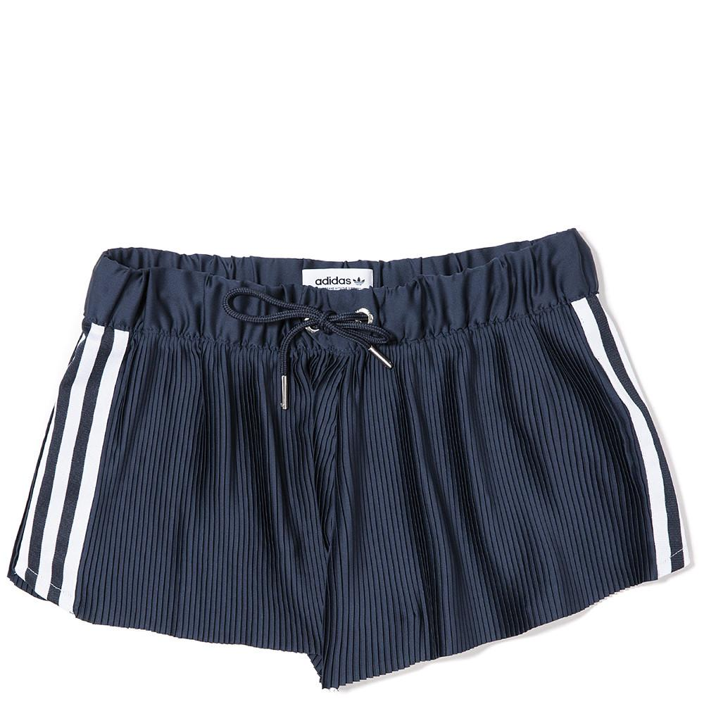 style code BK2315. Adidas Women's 3 stripes shorts. Legend Ink