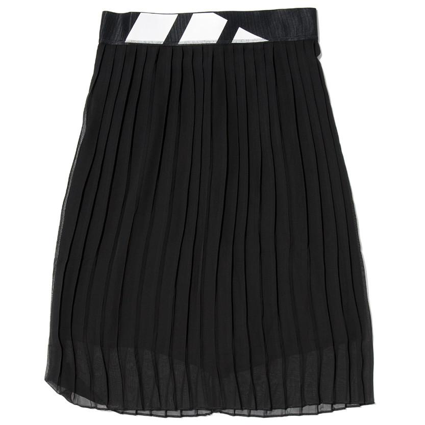 ADIDAS WOMEN'S PLEATED SKIRT / BLACK . style code BK6187