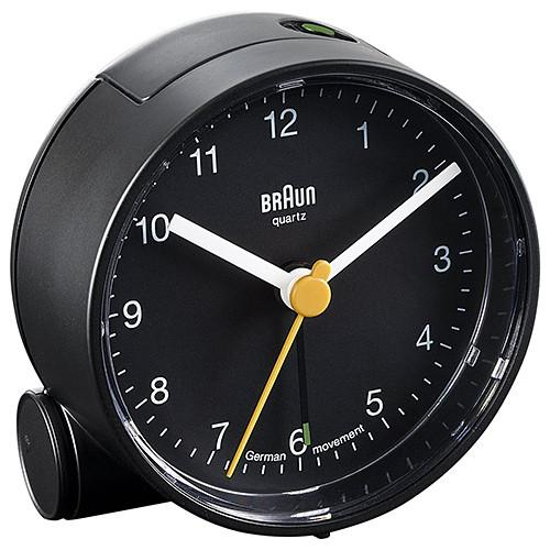 BRAUN CLASSIC ANALOGUE WALL CLOCK / BLACK