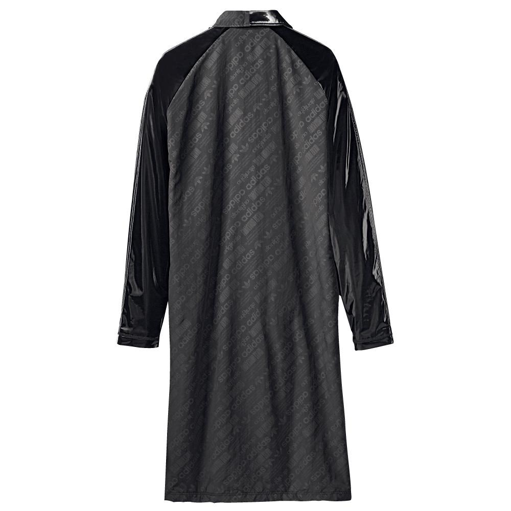 style code BP6685. ADIDAS ORIGINALS BY ALEXANDER WANG PATCH COAT / BLACK
