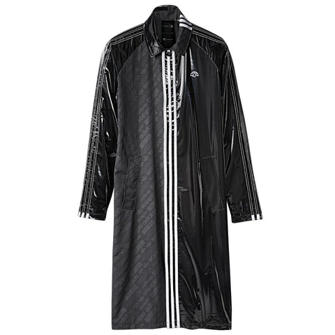 ADIDAS ORIGINALS BY ALEXANDER WANG PATCH COAT / BLACK