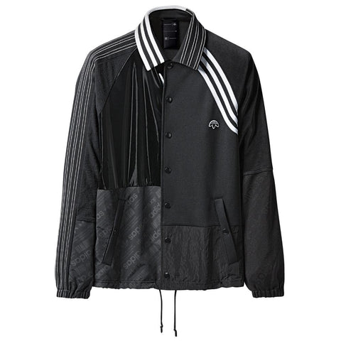 ADIDAS ORIGINALS BY ALEXANDER WANG PATCH JACKET / BLACK