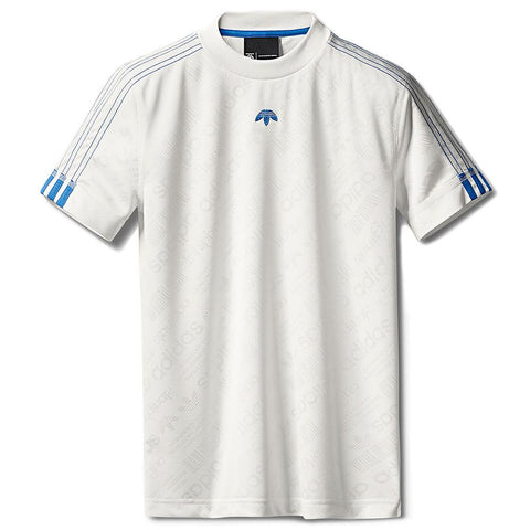 ADIDAS ORIGINALS BY ALEXANDER WANG SOCCER JERSEY / CORE WHITE