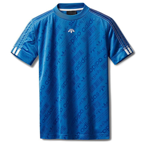 ADIDAS ORIGINALS BY ALEXANDER WANG SOCCER JERSEY / BLUEBIRD
