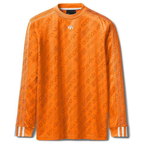 ADIDAS ORIGINALS BY ALEXANDER WANG SOCCER LS / SUPER ORANGE