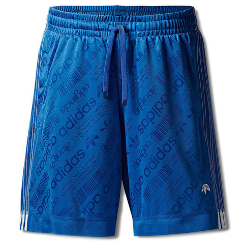 ADIDAS ORIGINALS BY ALEXANDER WANG SOCCER SHORT / BLUEBIRD