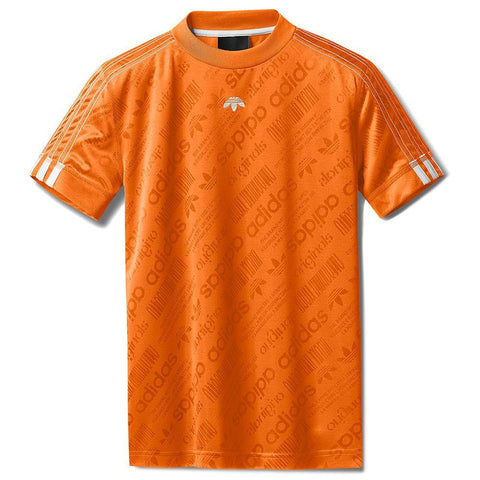 ADIDAS ORIGINALS BY ALEXANDER WANG SOCCER JERSEY / SUPER ORANGE