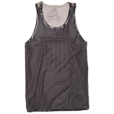 ADIDAS DAY ONE MESH SINGLET BLACK / LIGHT BROWN