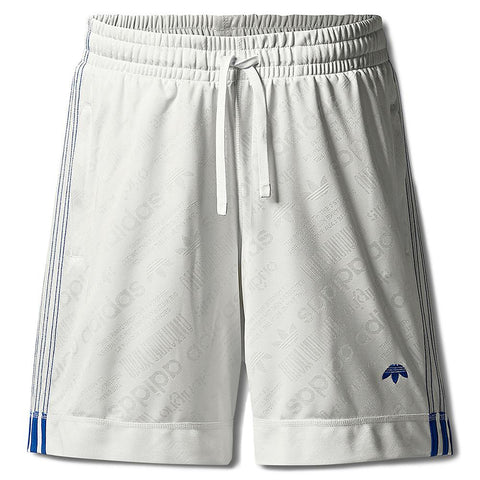 ADIDAS ORIGINALS BY ALEXANDER WANG SOCCER SHORTS / CORE WHITE