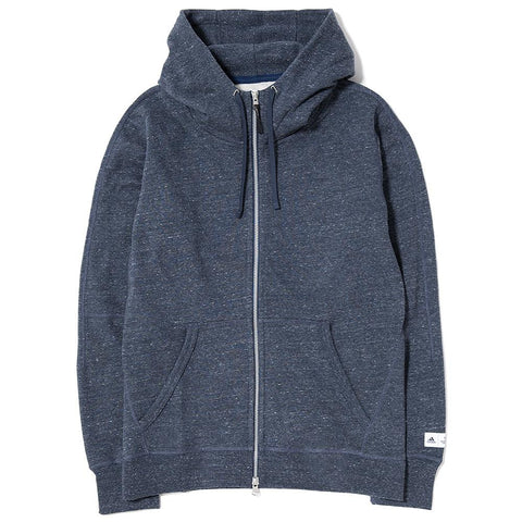 ADIDAS X REIGNING CHAMP FTFZ HOODY / HEATHER NAVY