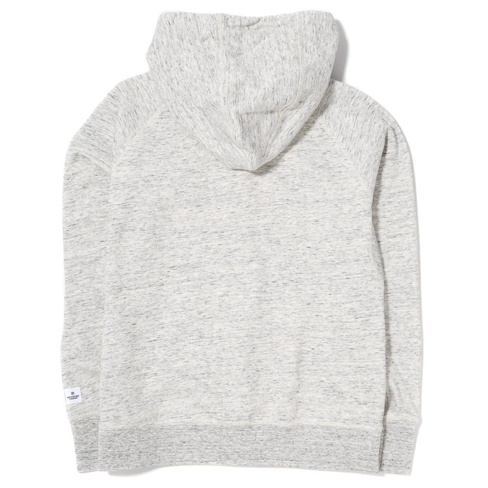 ADIDAS WOMEN'S X REIGNING CHAMP FTFZ HOODY / HEATHER WHITE