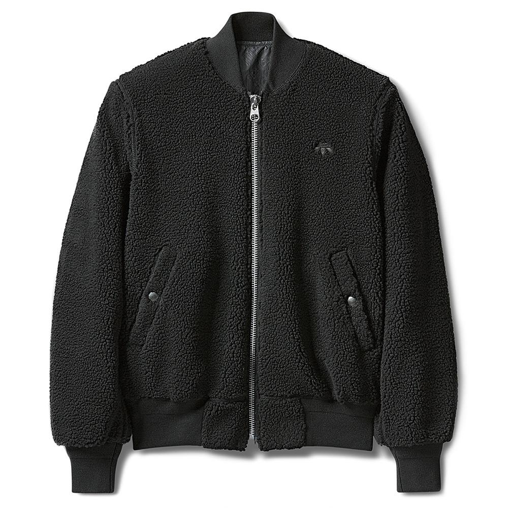 style code BS2998. ADIDAS ORIGINALS BY ALEXANDER WANG REV BOMBER / BLACK