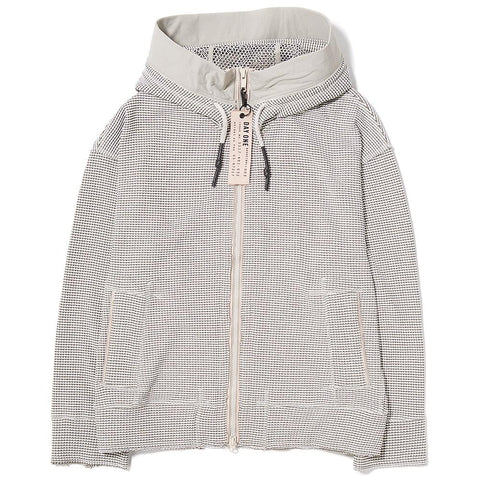 style code BS3106. ADIDAS DAY ONE WAFFLE HOODED TRACK TOP / CLEAR BROWN