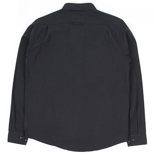 HUF BDU MILITARY RIPSTOP LS SHIRT / BLACK - 6