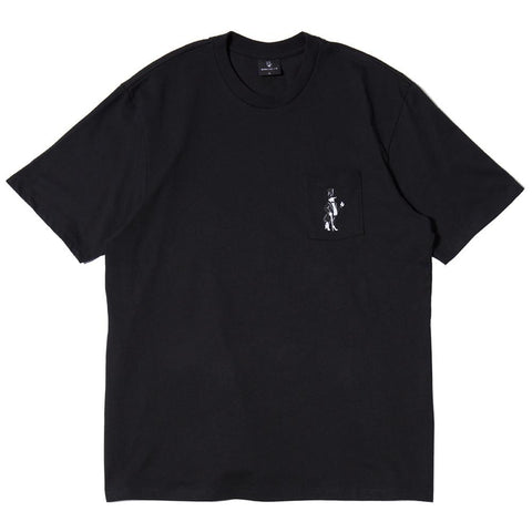 BORN X RAISED SNOOTY T-SHIRT / BLACK - 1