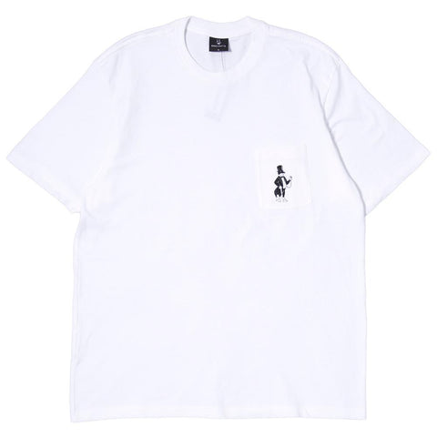 BORN X RAISED SNOOTY T-SHIRT / WHITE - 1