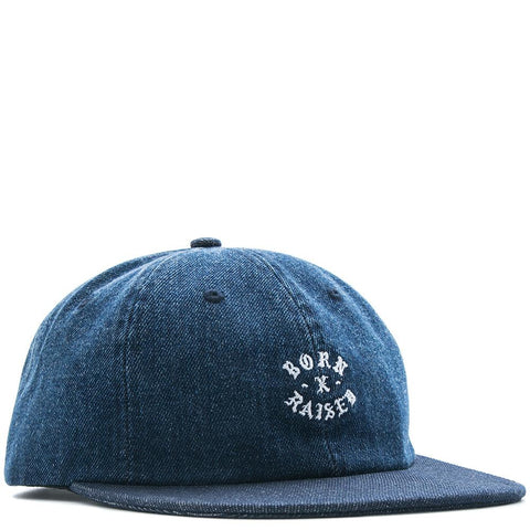BORN X RAISED DILF EBBETS FIELD HAT / BLUE - 1