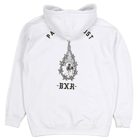 BORN X RAISED PARADISE LOST PULLOVER HOODIE / WHITE - 1