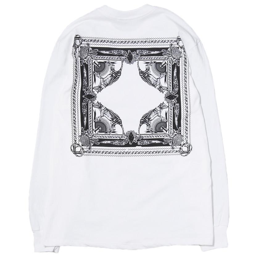 BORN X RAISED X SUPPLY LONG SLEEVE T-SHIRT / WHITE - 3