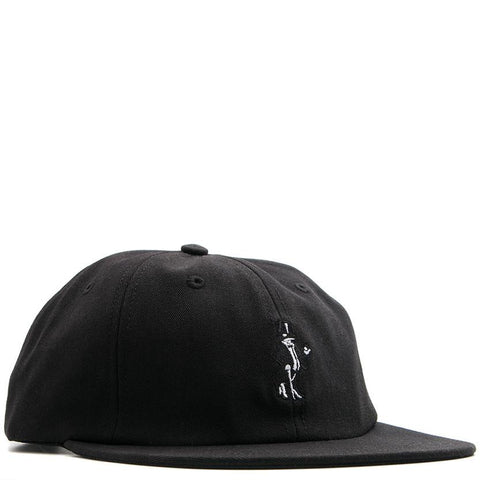 BORN X RAISED SNOOTY FOX DAD HAT / BLACK - 1