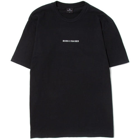BORN X RAISED DELUSIONS T-SHIRT / BLACK