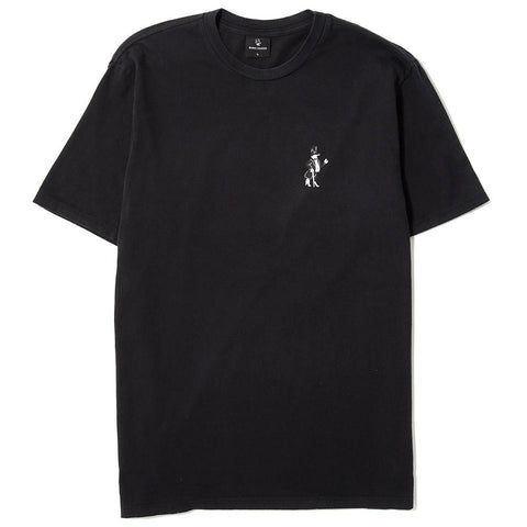 BORN X RAISED SNOOTY FOX T-SHIRT / BLACK