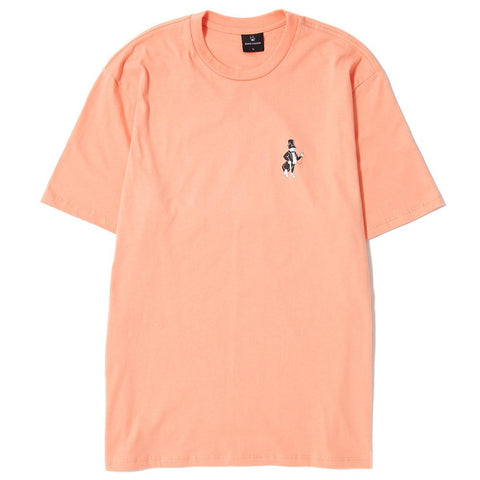 BORN X RAISED SNOOTY FOX T-SHIRT / PEACH