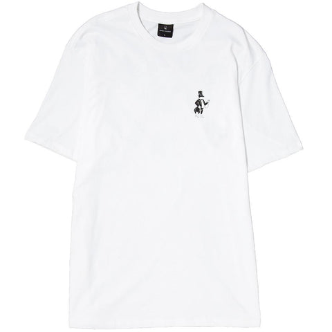 BORN X RAISED SNOOTY FOX T-SHIRT / WHITE