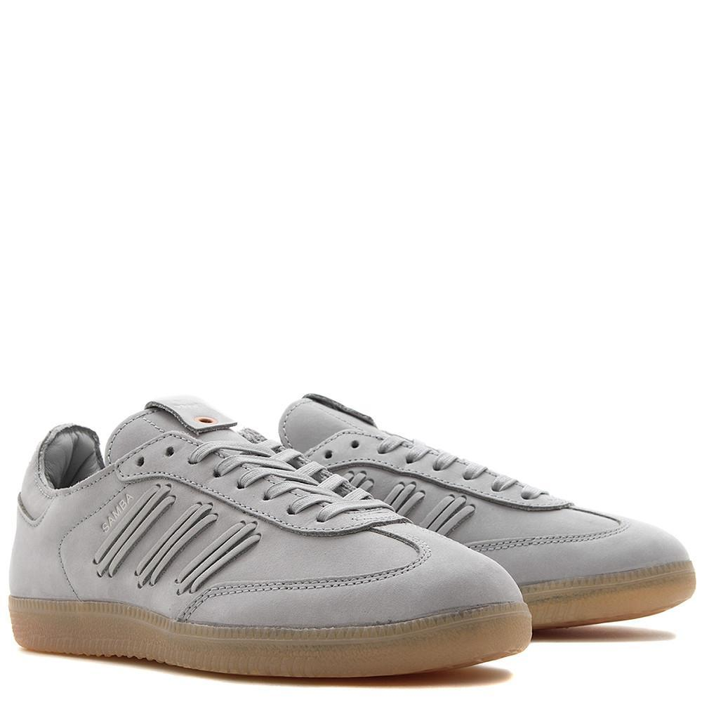 style code BY2833. ADIDAS WOMEN'S CONSORTIUM SAMBA DEEP HUE / CLEAR ONIX