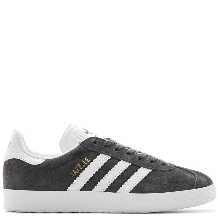 ADIDAS WOMEN'S ORIGINALS GAZELLE / UTILITY BLACK . style code BY2851