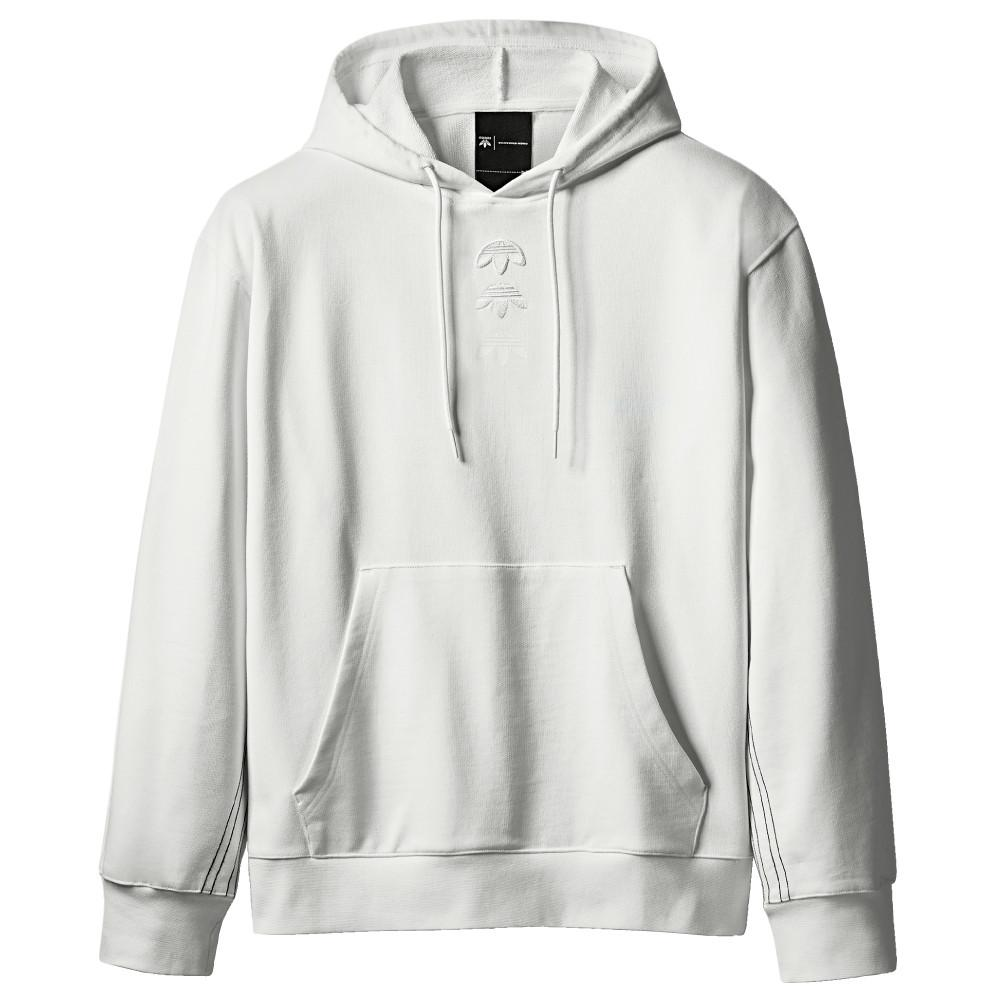 style code CD0898. ADIDAS ORIGINALS BY ALEXANDER WANG LOGO HOODY / CORE WHITE