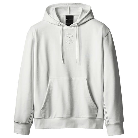 ADIDAS ORIGINALS BY ALEXANDER WANG LOGO HOODY / CORE WHITE