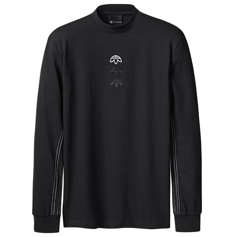 ADIDAS ORIGINALS BY ALEXANDER WANG LOGO LS / BLACK