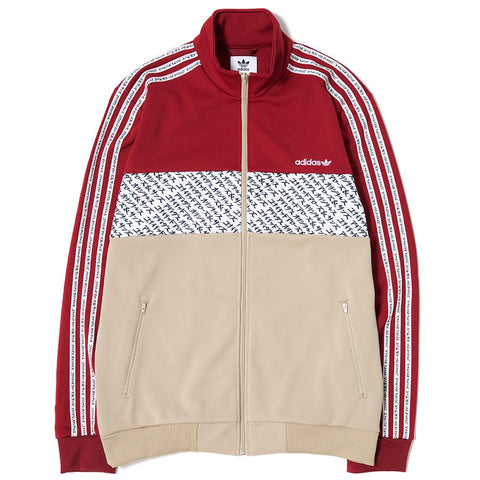 ADIDAS CONSORTIUM X UNITED ARROW & SONS TRACK SUIT / BURGUNDY